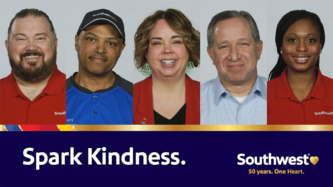 spark kindness southwest airlines