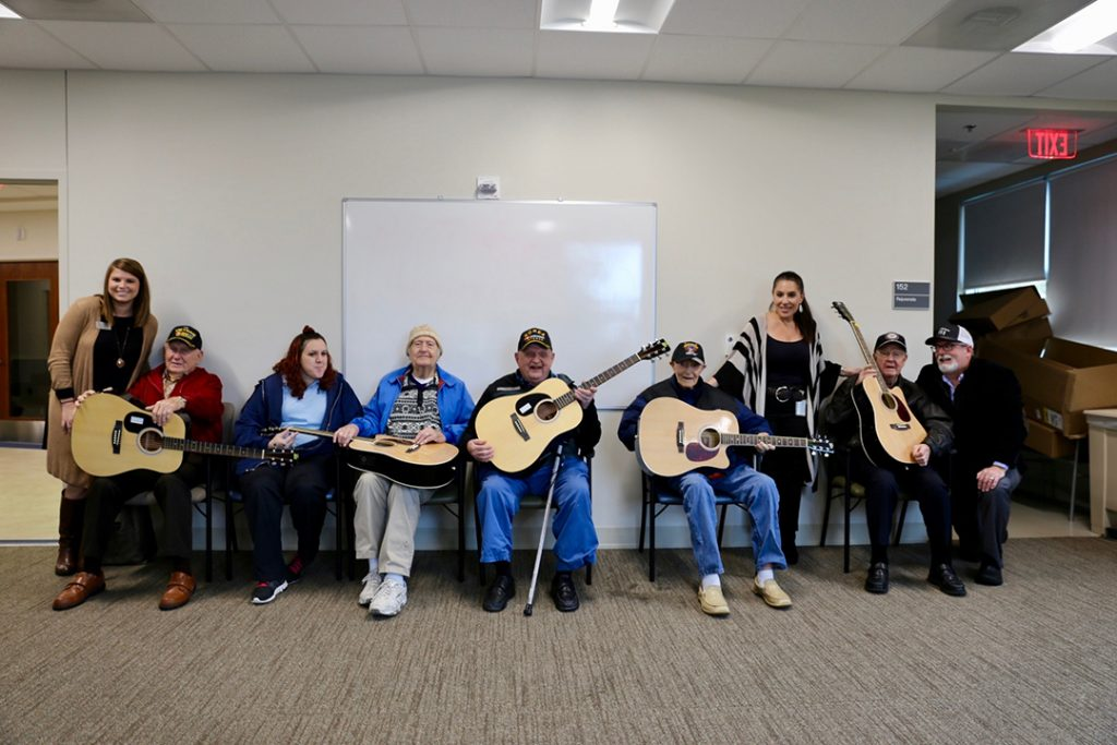 music therapy for veterans
